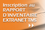 Inscription au rapport d'inventaire
